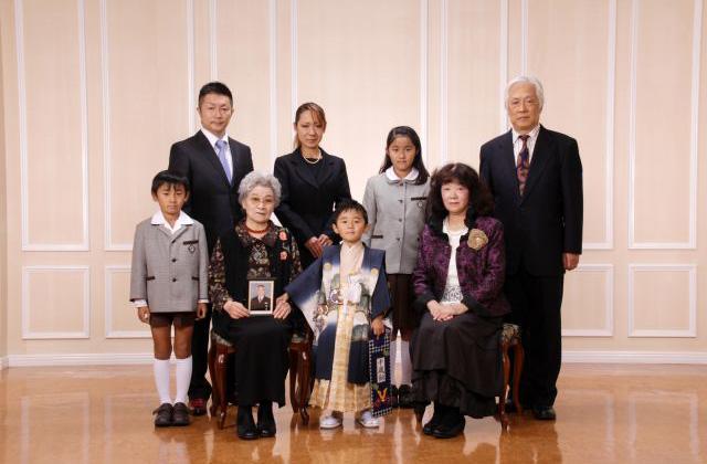 記念撮影 Ceremonial Photo
